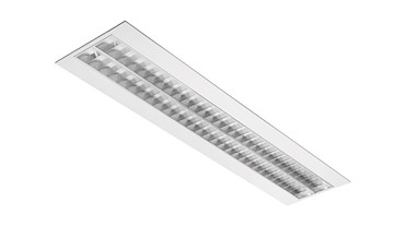 LED Rastereinbauleuchte, Office LED, 1245x310, 41W, DALI, 4700lm, 4000°K, CRI80